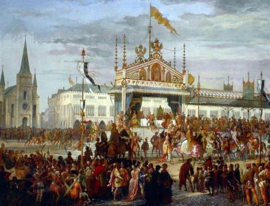 1356年至1357年的梅斯帝國議會。期間通過了《1356年金璽詔書》。
