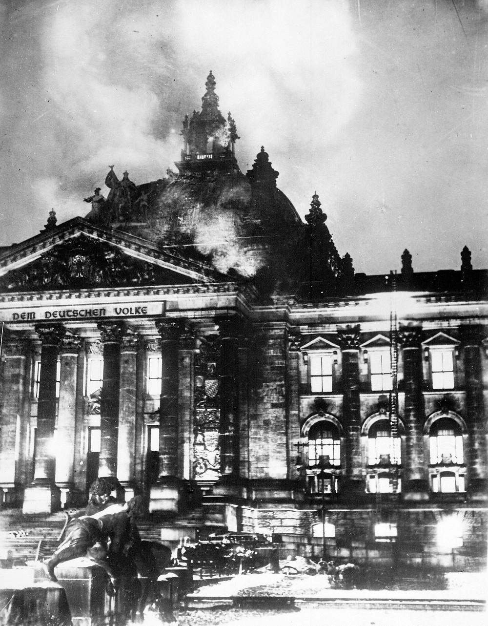 國會縱火案照片