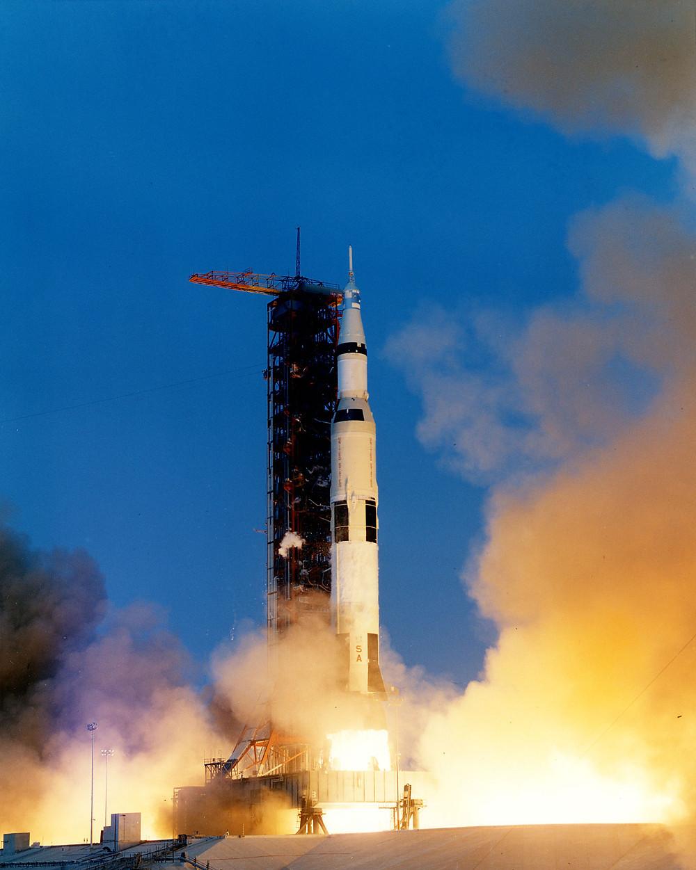 阿波羅13號在甘迺迪太空中心發射