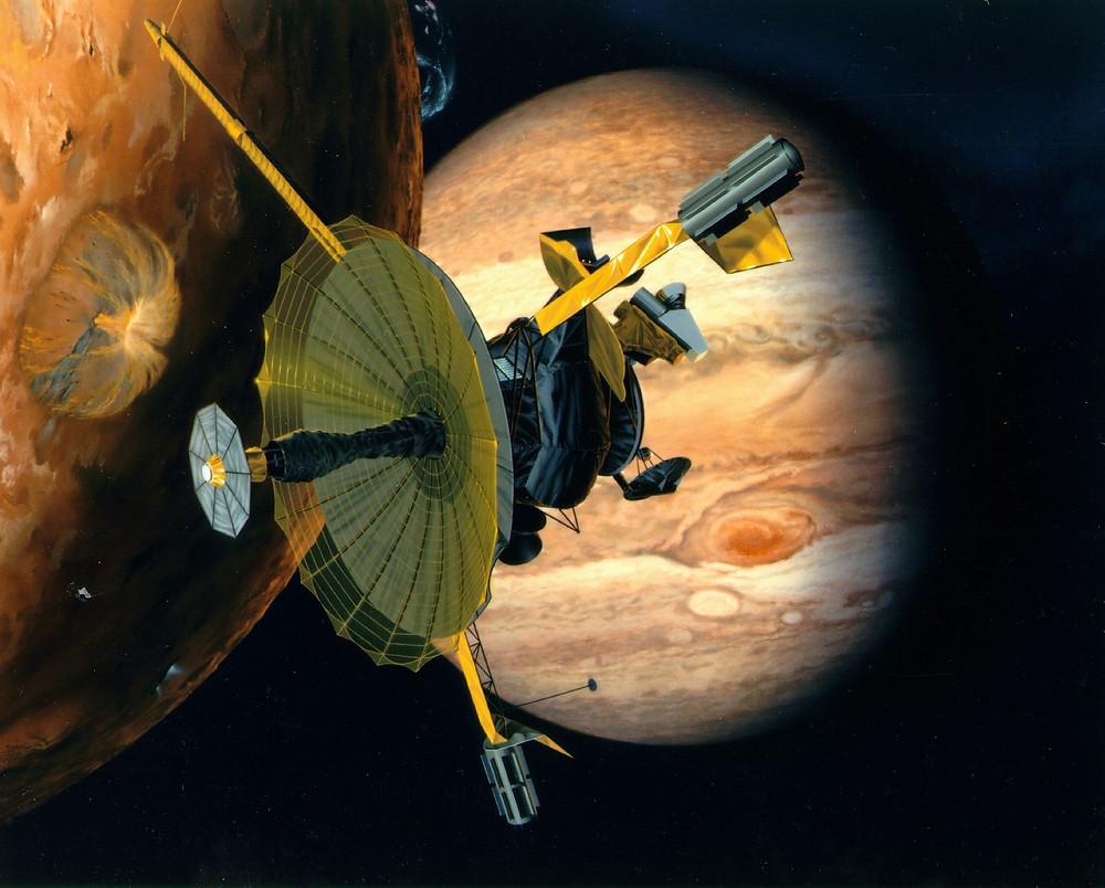 伽利略號探測器藝術概念圖