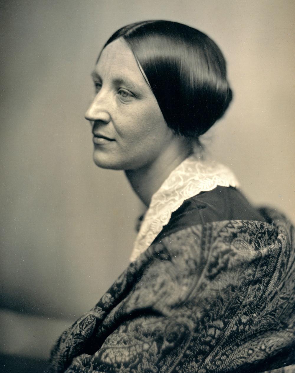 銀版攝影法拍攝的婦女肖像