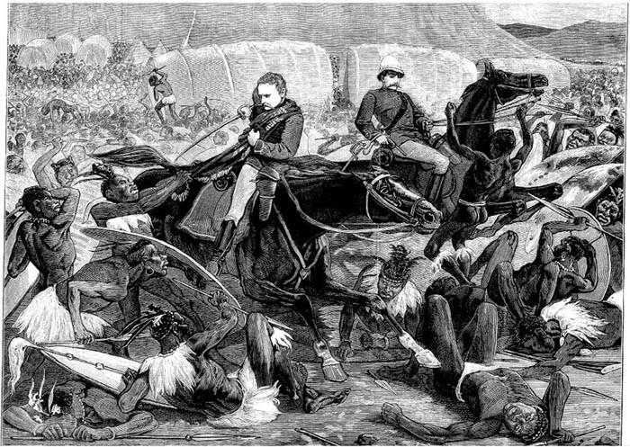 伊散德爾瓦納戰役
