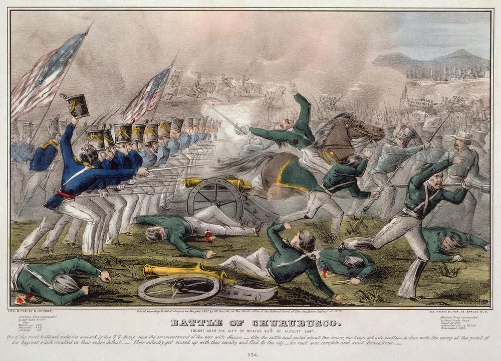 美墨戰爭中的丘魯武斯科戰役