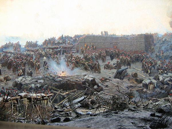 弗朗茨·魯鮑德筆下的塞瓦斯托波爾圍城戰