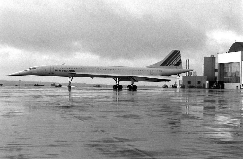 法國航空協和飛機(1977年)