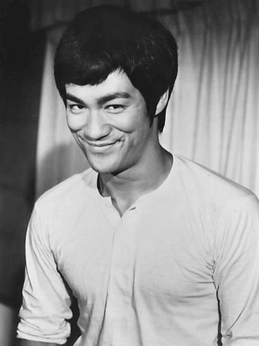 1971年拍攝《唐山大兄》時的李小龍