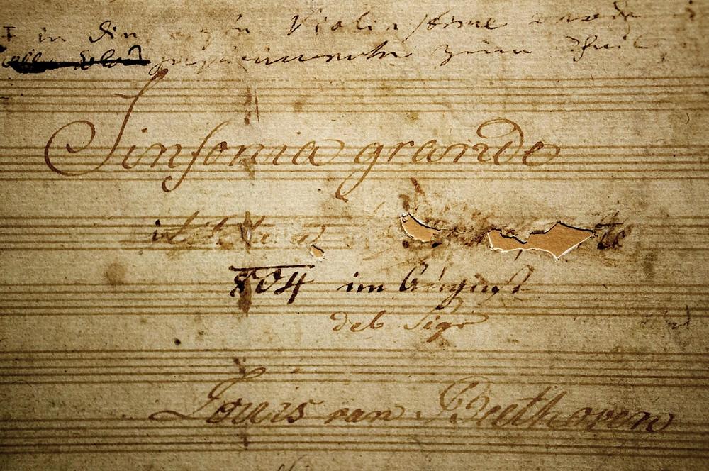 英雄交響曲的標題頁