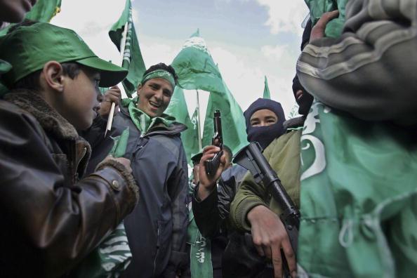 巴勒斯坦好戰組織哈馬斯贏得大選(Getty Images)