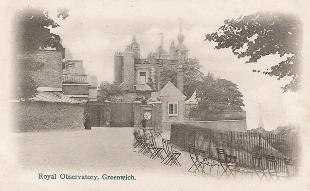 1902年皇家格林威治天文台明信片