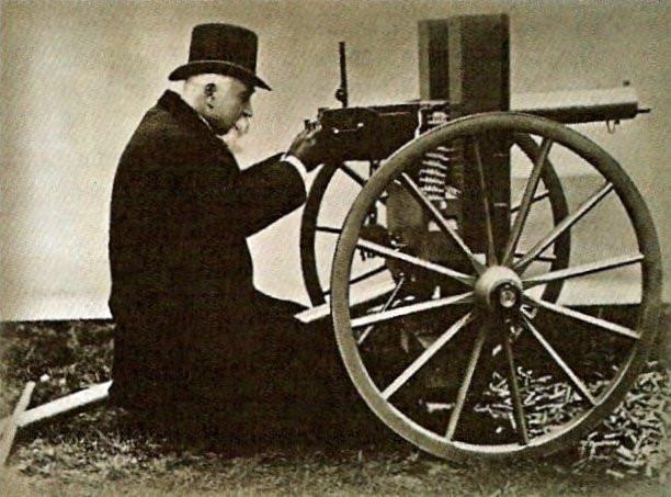 馬克沁爵士和他的機槍