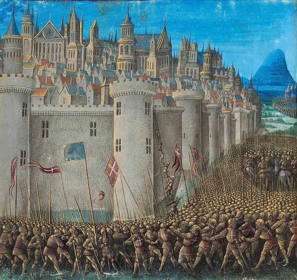 第一次十字軍東征時的安條克之圍
