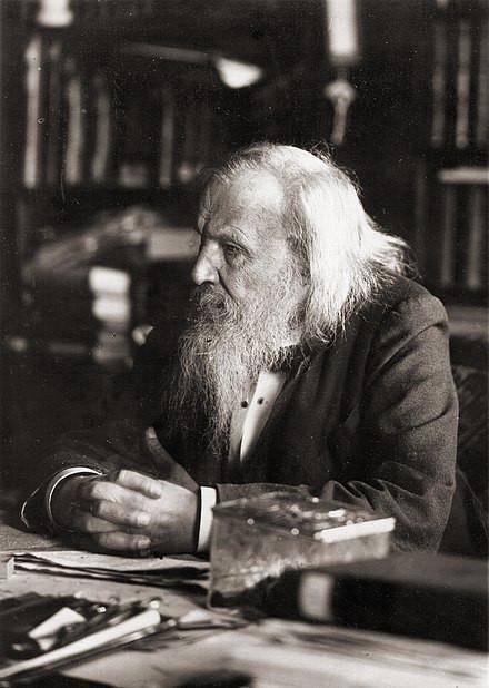 門得列夫於1897年