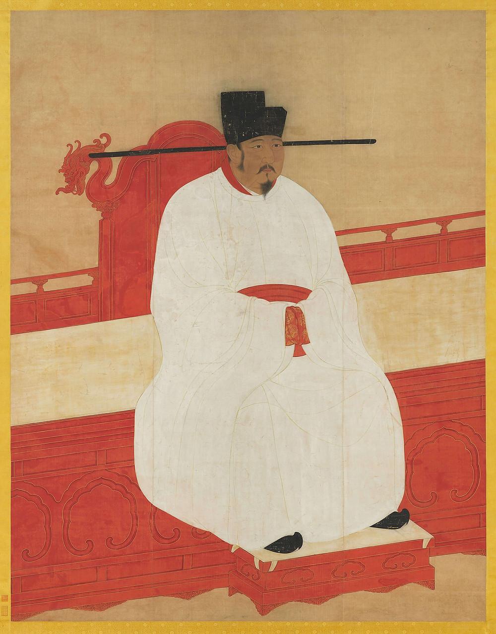 宋英宗宣孝皇帝肖像