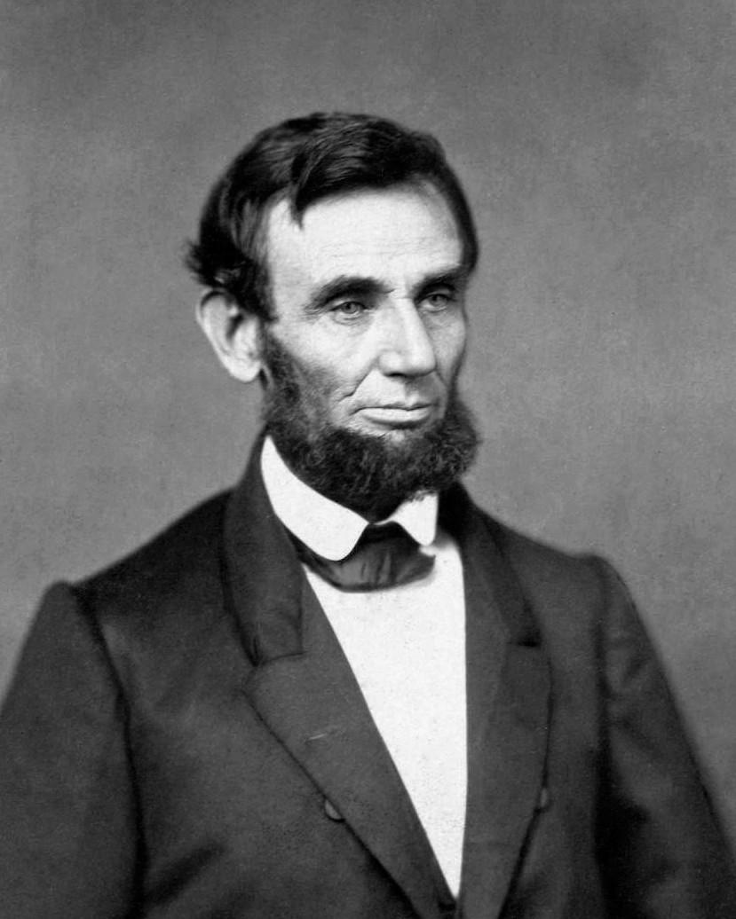 林肯當選總統後的第一張照片
