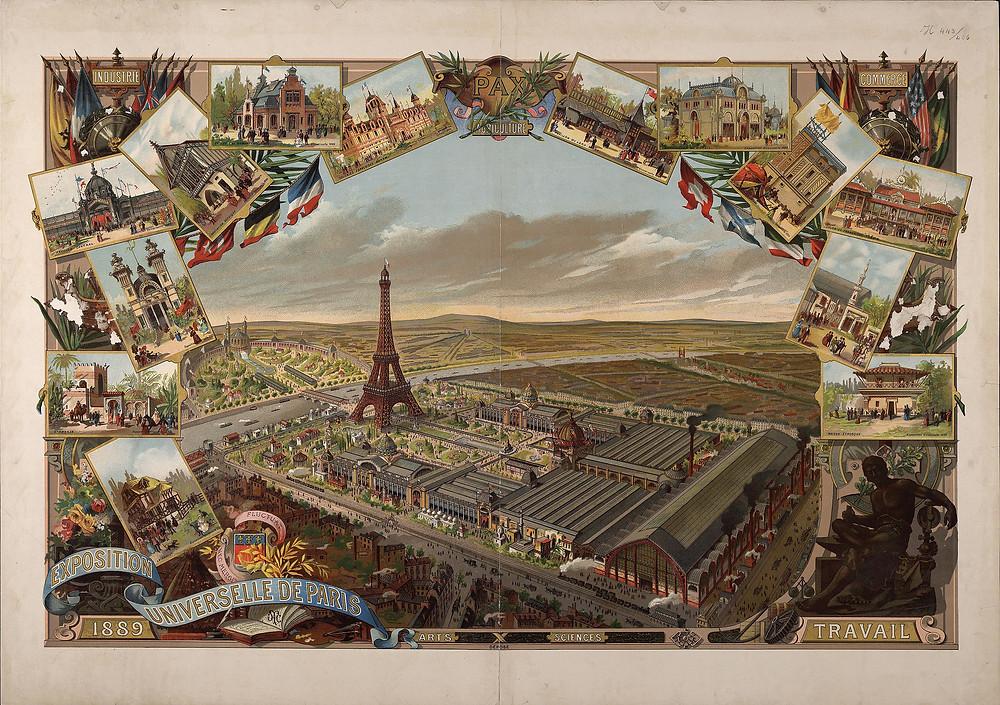 1889年巴黎世界博覽會