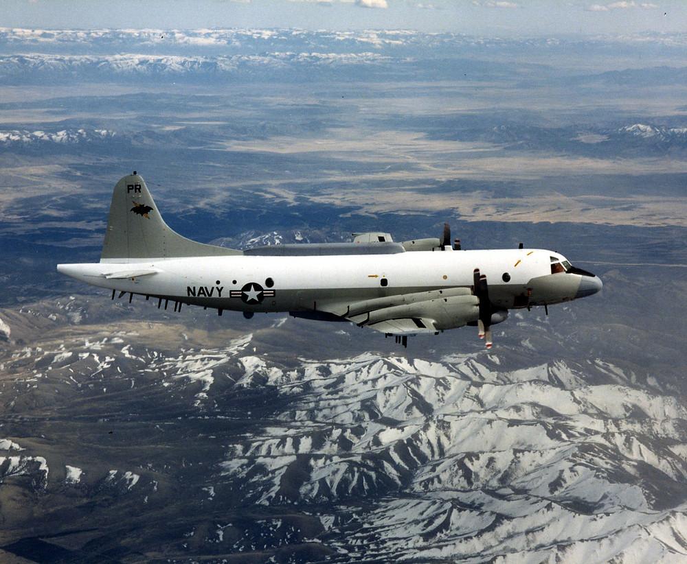 涉事的美國海軍航空兵EP-3E偵察機的同型飛機