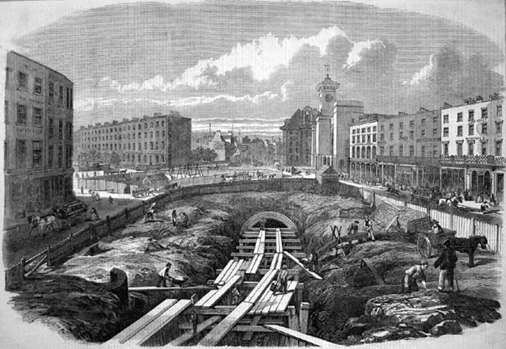 正在建設中的大都會地鐵線