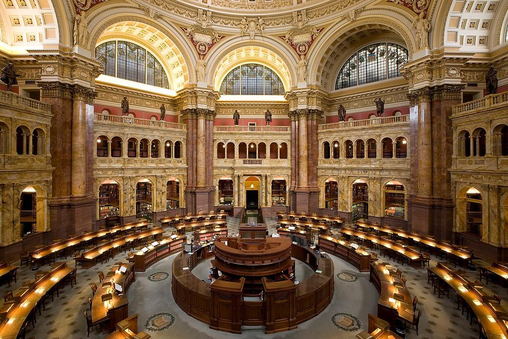 美國國會圖書館主要閱覽室