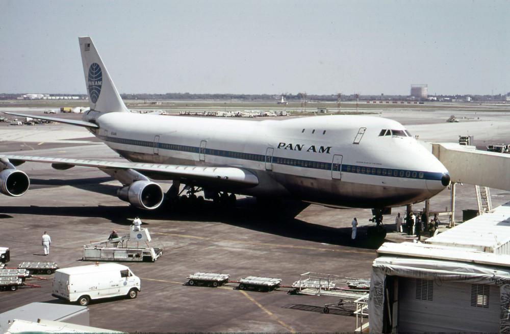 泛美航空為波音747的啟動用戶