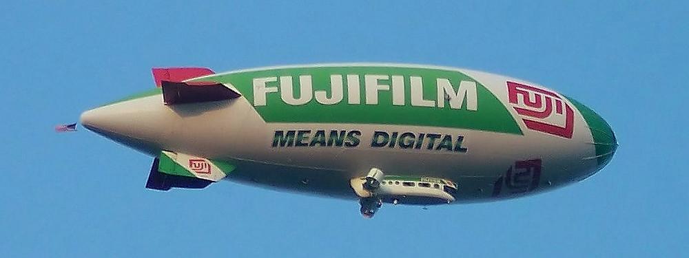 富士膠片的廣告飛艇