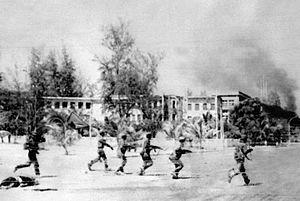 1979年1月越南士兵進入金邊