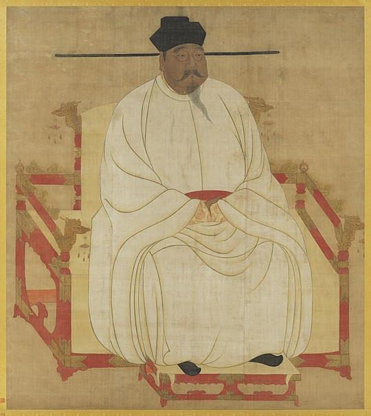 宋朝太祖皇帝肖像