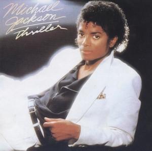 麥克·傑克遜Thriller專輯封面
