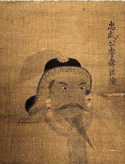 東亞大學的李舜臣畫像