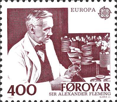 弗萊明紀念郵票