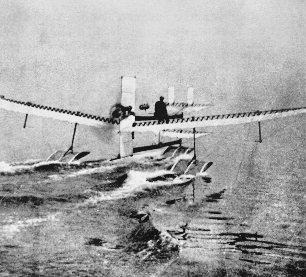 水上飛機發明者亨利·法布爾