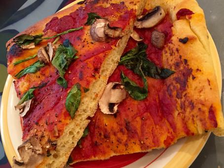 Cornmeal Crusted Z-Z-A! (pizza)
