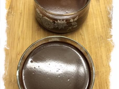 Chili Chocolate Coconut Pudding