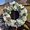 elegance hydrangea door wreath for a gift that is handmade in our welsh studio - present her with a front door hanger
