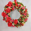hand made gift, dress your front door with this stunning wreath, made in wales