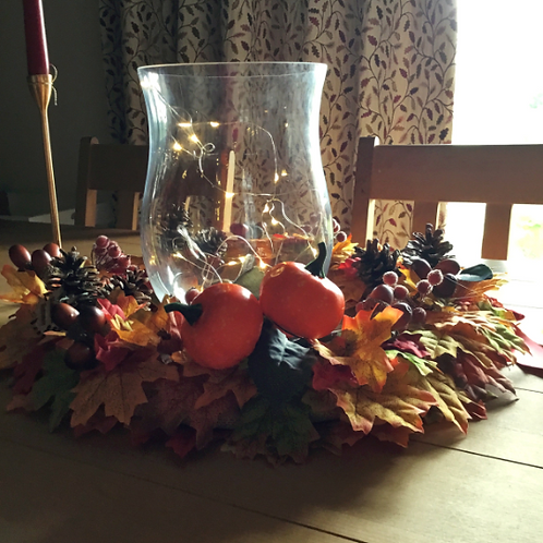 pumpkin patch table centre centrepiece for a gift, making an entrance uk, hand made in our welsh studio