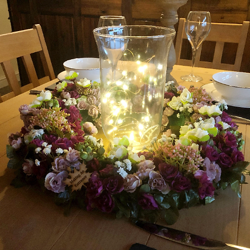 'Walk Me Home' Centrepiece - table decor for a gift or present