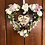 Thumbnail: 'Hug in a heart' mini personalised wreath