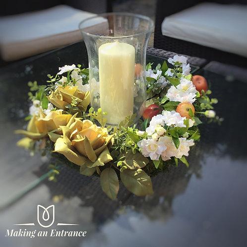 we make at makinganentrance uk Liverpool faux flowers flowers in gift box, gift box of flowers, birthday gift, bling