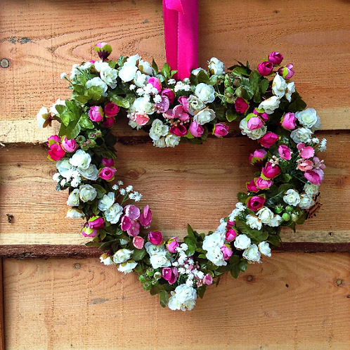 hand made in our welsh studio this luxury door wreath will add a touch of gift glam to your door