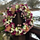 walk me home front door wreath as a wedding gift or house warming present - making an  entrance uk