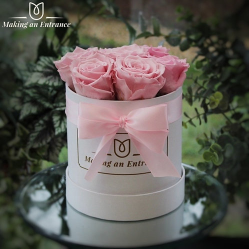pink long stem infinity preserved forever timeless rose bloom box lasting making an entrance