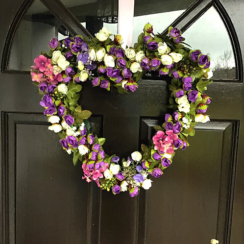 luxury hand made deluxe front door hanger or wreath will add a touch of class to your home decor