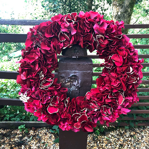 'A Sleigh Ride together with you ' Wreath