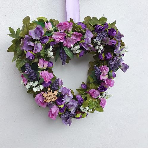 Summer Sweet Hearts Midi Door Wreath