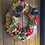 enchanted forest large front door wreath a gift made in our welsh, wales workshop present for her