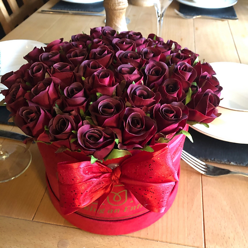 'Love Potion' Medium Bloom Box Bouquet of Roses