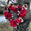 'True Love' Heart Wreath a home decor item for your door or front window - making an entrance uk - hand made with love
