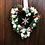 Thumbnail: 'All I Want For Christmas Is You' Midi Wreath (White and silver)