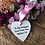 Kiss from a rose heart front door decor and wreath - ideal gift for mum dad daughter - mothers day - easter present