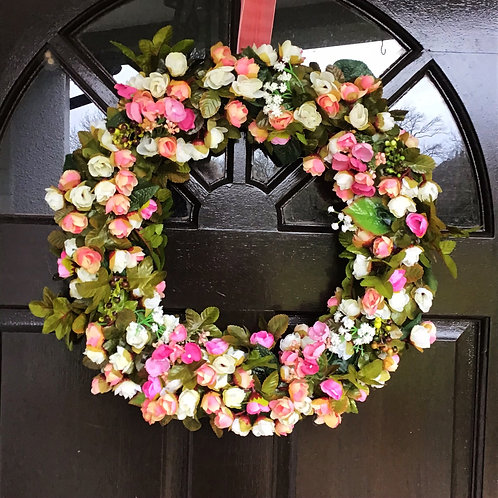 made for you by us, this handmade decor for your front door will wow your neighbours - deluxe wreath